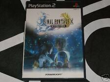 PS2 Import Final Fantasy X International FFX w/DVD Japan Region Locked