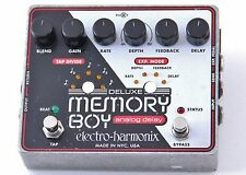 Electro-Harmonix Deluxe Memory Boy Delay Guitar Effects Pedal P-00503