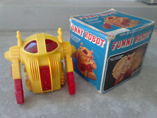 VINTAGE ROBOT FUNNY ACROBAT HONG KONG ACROBOT BATTERY OPERATED LIGHTED EYES !