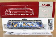 Bemo 1259 134 Hom SBB CFF RhB GE 4/4 III E-lok loco 644 radio Rumantsch MiB NJ