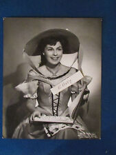 "Original Press Photo - 10""x8""- Roberta Peters - Opera Singer - 1950's"