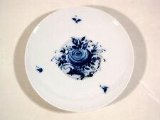 Rosenthal Bjørn Wiinblad Romance in Blau selten Teller m. Vertiefung Blaue Blume