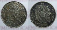 1 FRANCS 1830 - 1880 LEOPOLDO II BELGIO