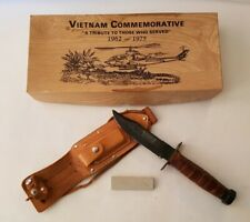 Vtg Taylor 528 Japan Vietnam Commemorative Pilot Survival Knife W/ Box