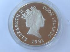 50 Dollars 1991 Cook-Islands Silber PP Riesen-Känguruh