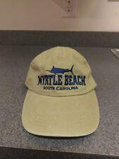 Sparky's Myrtle Beach, SC South Carolina Brown Tan Hat Cap Adjustable Strap