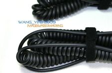 Extended Coiled Spring DJ Cable For Audio Technica ATH M50X M40X Headphones