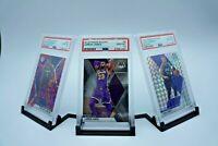 PSA Graded Card Display Holder Stand For 3 Card Pokémon, MTG, Sports