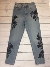 Topshop Floral Jeans for Women