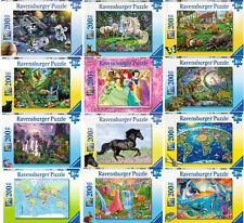 200 Teile XXL Ravensburger Kinderpuzzle Tiere Feen Einhorn Dinos Disney Welt