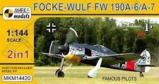 Mark I Models 1/144 Focke-Wulf Fw 190 A-6 / A-7 (2in1) Model Kit