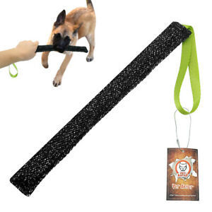 K9 Dog Bite Tug Jute Pet Chew Toys for Aggressive Chewers Training with Handle