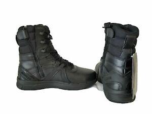 "New Reebok Men's Guide 3.0 Tactical Side Zip 8"" Duty Uniform Black Boots RB8844"