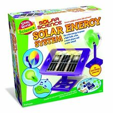SOLAR SCIENCE ENERGY SYSTEM - An Easy Physics Science Kit - New