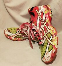 ASICS Gel Noosa Tri 6 Size 8 Pink Multi-Color T163N Running Shoes Women's