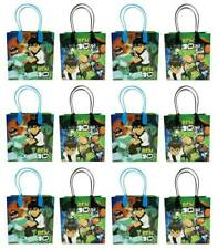 12pc New Ben 10 Birthday Party Favors Goody Loot Gift Candy Bags