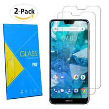 """For Nokia 7.1 5.84"""" 2018 - 2-Pack Tempered Glasses Screen Guard Protector Film"""