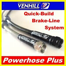 500mm Custom Stainless steel braided Powerhose Plus brake line hose VENHILL