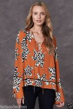 Rayon Dry-clean Only Casual Floral Tops & Blouses for Women