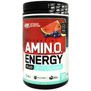 Optimum Nutrition Essential AmiN.O. Energy Amino Plus UC-II Collagen 30 servings