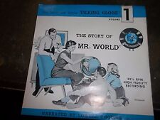 THE STORY OF MR. WORLD VOLUME 1 NARRATED BY LOWELL THOMAS, JR RECORD  (TT5)