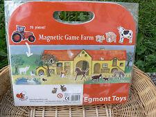 NUOVO Egmont Toys 630650 gioco magnetico fattoria