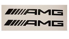 2 AMG Mercedes Aufkleber Logo Sticker MB C63 E63 SL63 ML63 CLS  16,5 cm