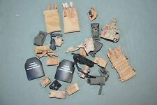 "1:6 US Army Equipment Gear Bags Pouches (24 Pcs) for 12"" Action Figures C-145"