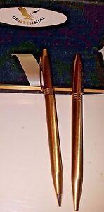 centennial ballpoint mechanical  pencil set vintage