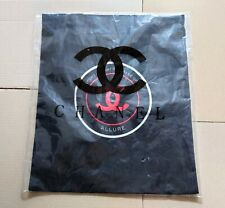 CHANEL Sport Is What You Make Of It Canvas Tote Bag Black New