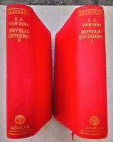1961 Willard Huntington Wright S.S. Van Dine, Novelas Escogidas, Aguilar 2 Tomos