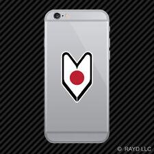 Japanese Driver Badge Cell Phone Sticker Mobile Japan JPN JN