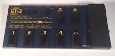 Boss Roland GT-3 Guitar Multi Effects Processor COSM Preamp Amp Emulator Pedal