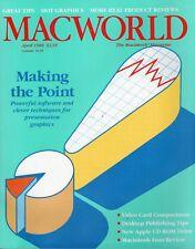 "ITHistory (1988/04) Magazine: MACWORLD ""Making The Point"" Graphics Ads!"