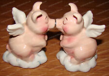 Heavenly Hogs Salt & Pepper Shakers (Attractives, 8622) When Pig's Fly, Magnetic