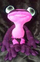 Kohls cares for kids Rio 2 purple frog Gabi pink 16 inches long plush animal