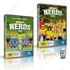 Nerds FC Season 1 + 2  Complete Series : New Soccer 4 Disc Set ( RARE DVDs)