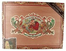 Flor De Las Antillas My Father Cigars Empty Wood Cigar Box 9 1/4 x 7 x 2""