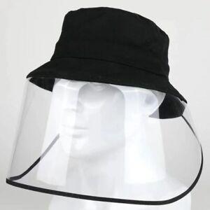Transparent Full Face Shields Protection Anti Saliva Baseball Cap Dust Proof Hat