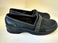 Propet Ped Rx Black Slip On Comfort Orhopedic Loafer WPRX11 Womens Shoes 9.5M