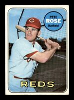 1969 Topps Set Break # 120 Pete Rose GD *OBGcards*
