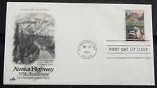 Alaskan Highway 1942 FDC Scott 2635 Art Craft