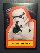 Topps 2015 Star Wars Journey To The Force Awakens STORMTROOPER S-16 Sticker Card