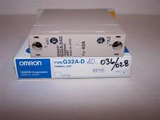 OMRON G32A-D40 TERMINAL UNIT  NEW IN BOX