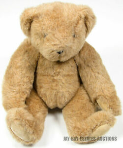 """VINTAGE THE VERMONT TEDDY BEAR COMPANY STUFFED JOINTED TOY 1994 USA HANDMADE 15"""""""