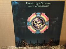 ELO - A NEW WORLD RECORD - ROCK - VINYL LP - 1976 - JET RECORDS - PLAY TESTED.