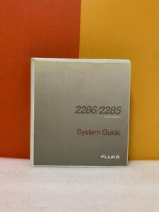 Fluke 870175 2286/2285 Data Logger System Guide