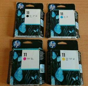 HP 11 C4810A C4811A C4812A C4813A Printhead Druckkopf CMYK Designjet Officejet