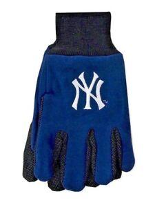 MLB New York Yankees Sports Utility Gloves With Palm Grip NWT OSFM