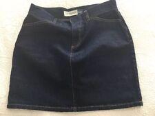 Gap Jeans Designer Womens Blue Denim Stretch Skirt - Size 6